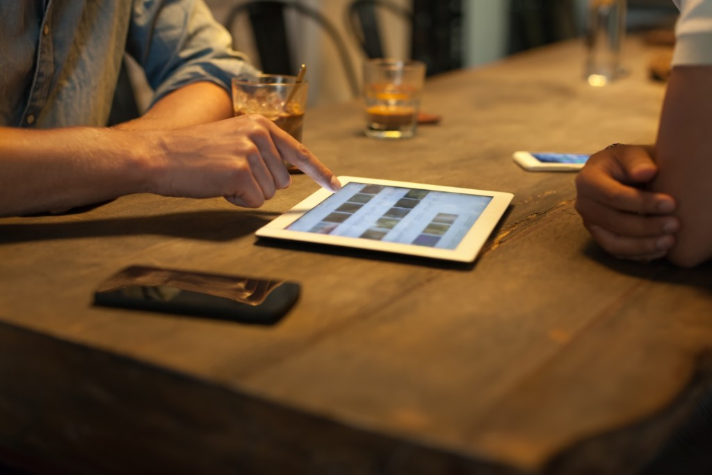Digital interaction is on the rise in dining