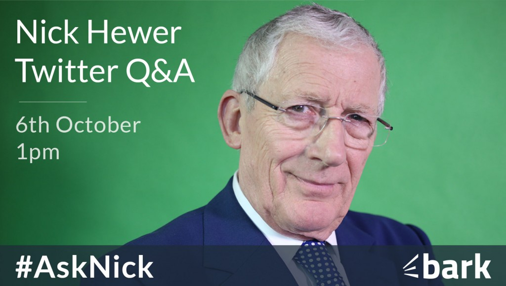 Nick Hewer Twitter q&A