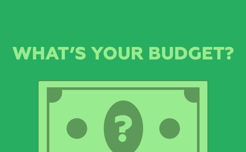 <strong>Why we've stopped asking for budgets</strong>