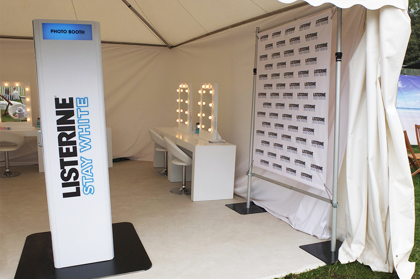 Listerine generated nearly 140,000 with their photo booth at 2014's Isle of Wight Festival