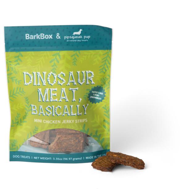 Photograph of BarkBox's Dinosaur Meat, Basically product