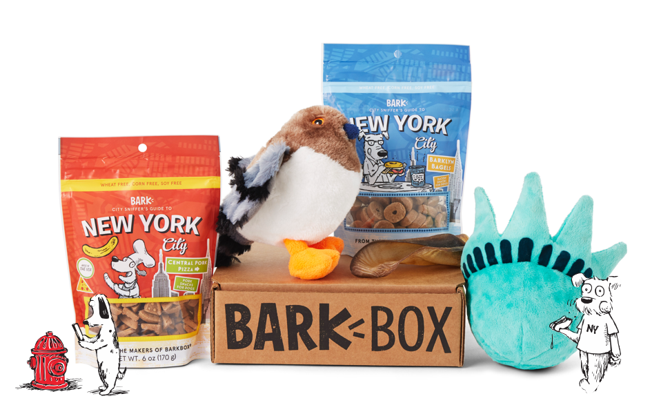 New York City themed BarkBox