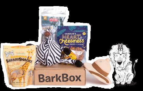 Sniffin' Safari themed BarkBox
