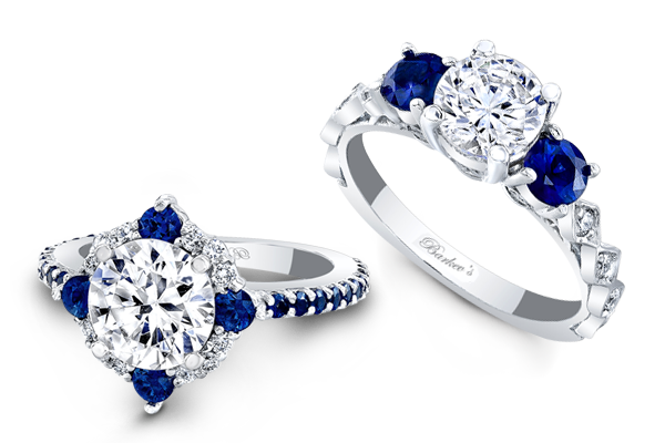 sapphire engagement rings - Sapphire Wedding Rings