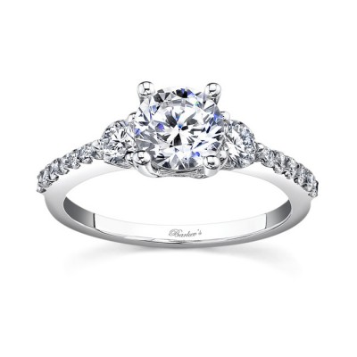 Three Stone Diamond Ring - 7539L