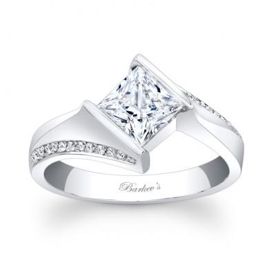 Unique Engagement Ring - 7840L