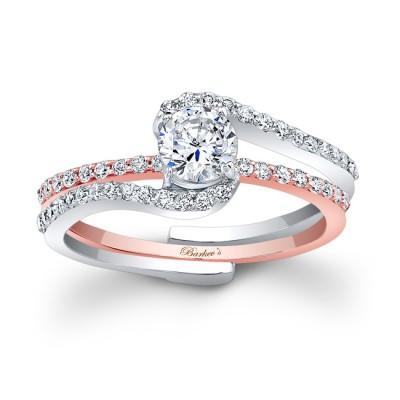 Rose Gold Bridal Set - 7907ST