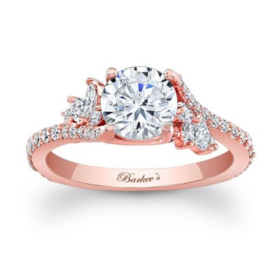 Rose Gold Engagement Ring 7908LP