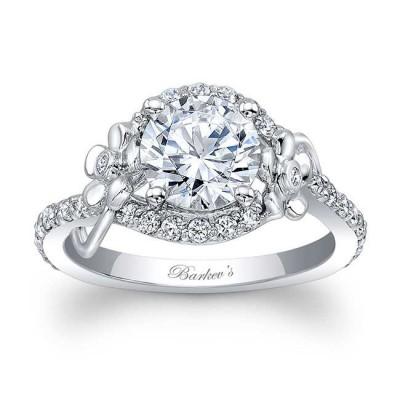 flower engagement ring - Flower Wedding Ring