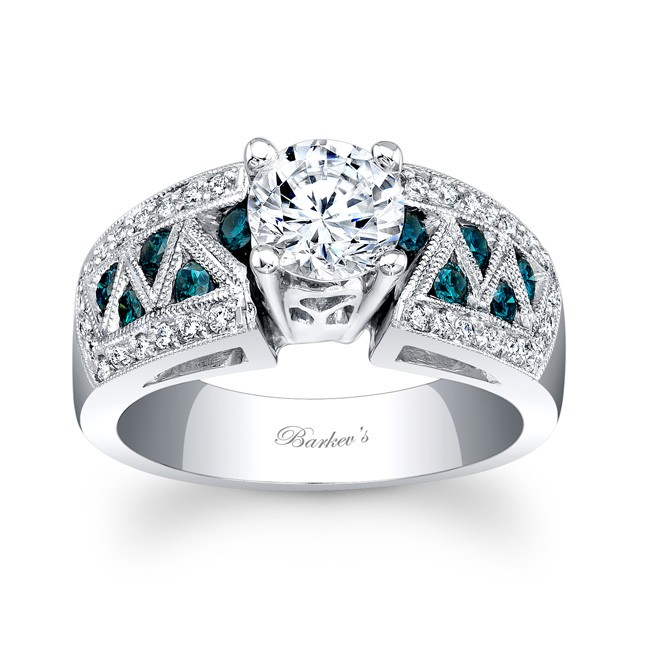 Barkevs Blue Diamond Ring 6620LBD