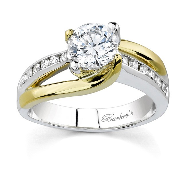 barkev 39 s two tone engagement ring 6990ly
