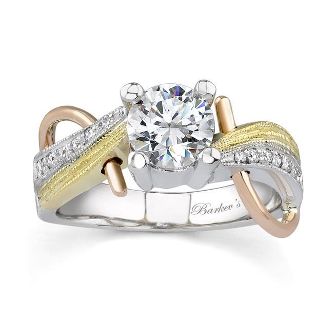 barkev s tri color engagement ring 7138l