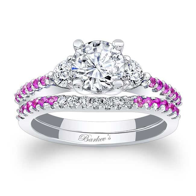 Barkevs Pink Sapphire Engagement Ring 7539SPS