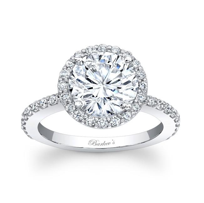 Halo Engagement Ring 7839L