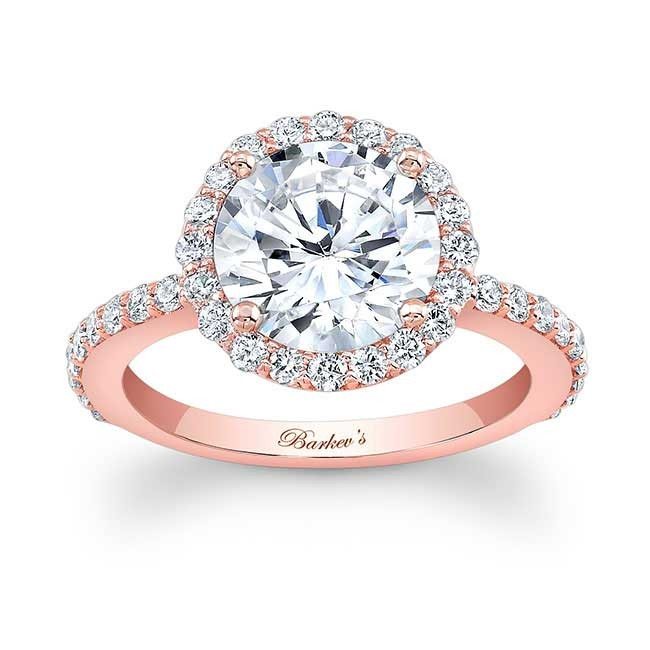 barkev 39 s rose gold engagement ring 7839lp