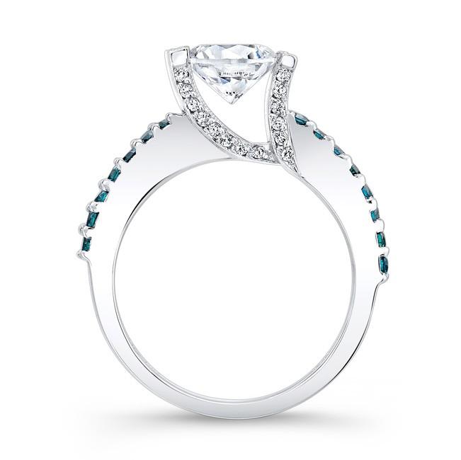 Blue Diamond Engagement Ring 7867LBD · Blue Diamond Engagement Ring 7867LBD  Profile