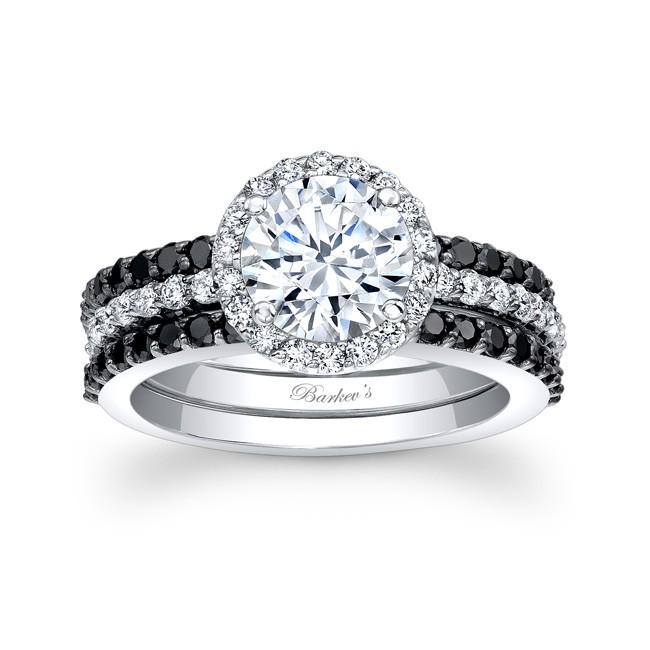 Barkev s Black Diamond Bridal Set 7895SBK