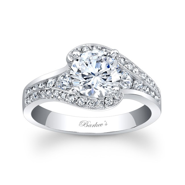 Modern Style Engagement Rings