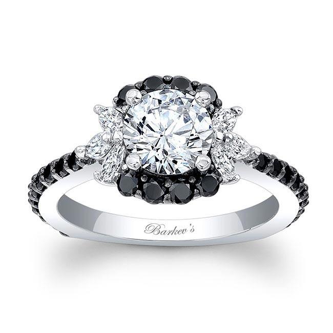 barkev s black engagement ring 7930lbk