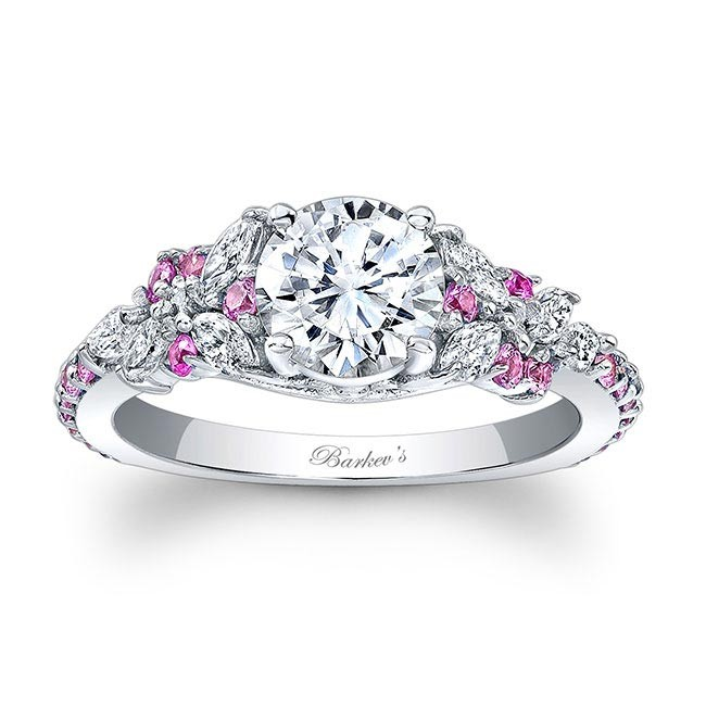 Barkev's Pink Sapphire Engagement Ring 7932LPS