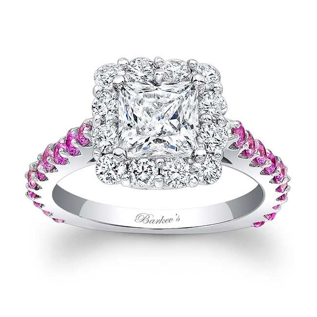 Barkevs Pink Sapphire Engagement Ring 7939LPS