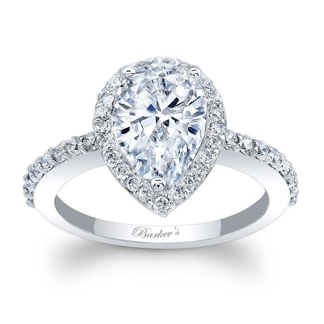 Barkev s Pear Shaped Engagement Ring 7994L