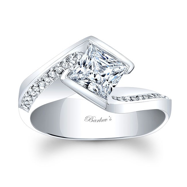 barkev s princess cut engagement ring 8032l