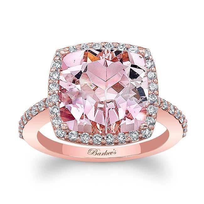 morganite engagement ring - Morganite Wedding Rings