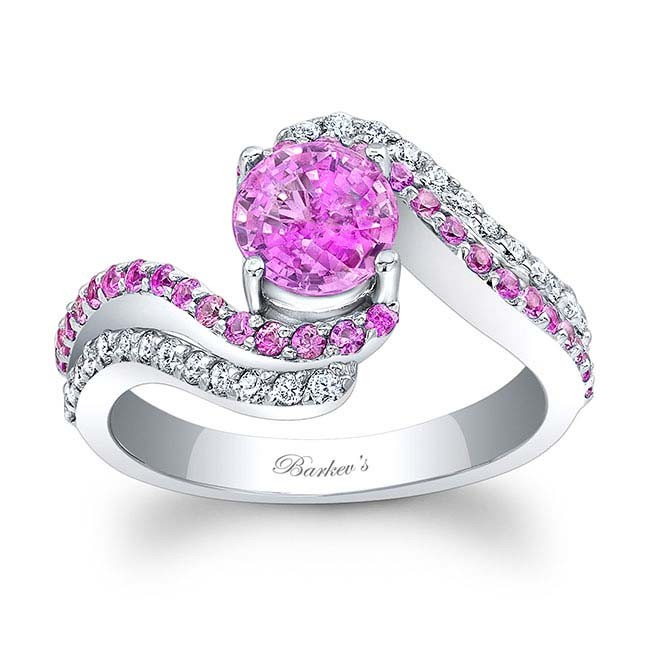 Barkevs Pink Sapphire Engagement Ring PC 7912LPS