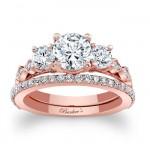 Rose Gold Bridal Set 7973SP