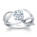 Unique Diamond Engagement Ring 8040L