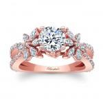 Rose Gold Engagement Ring 8056LP