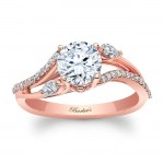 Rose Gold Engagement Ring 8060LP