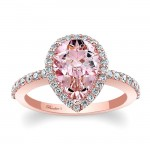 Morganite Engagement Ring  MOC-7994LP