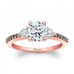 Rose Gold Bridal Set 7539SPBK