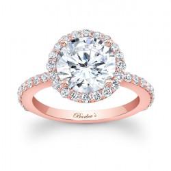 Rose Gold Engagement Ring - 7839LP