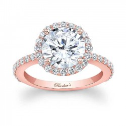 Rose Gold Engagement Ring - 7839LP