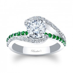 Tsavorite Engagement Ring 7848LTSV
