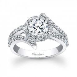 Diamond Engagement Ring - 7857L