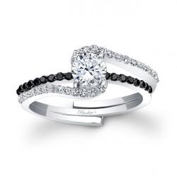 Black Diamond Engagement Set 7907SBK