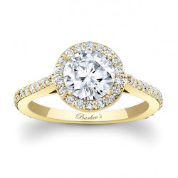 Yellow Gold Engagement Ring 7933LY