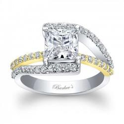 Princess Cut Engagement Ring 7935LTY