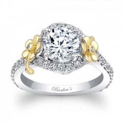Flower Engagement Ring 7936LTY
