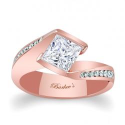 Princess Cut Engagement Ring 7970LP