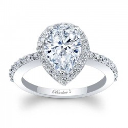 Pear Shaped Engagement Ring 7994L
