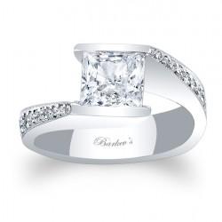 Princess Cut Engagement Ring 7996L