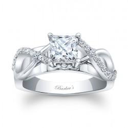 Princess Cut Engagement Ring 8018L