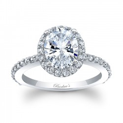 Oval Engagement Ring 8027L