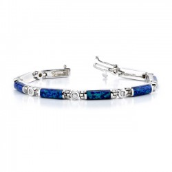 Diamond Bracelet Opal - 6051B