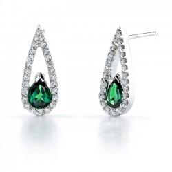 Tsavorite Earrings - 6993E